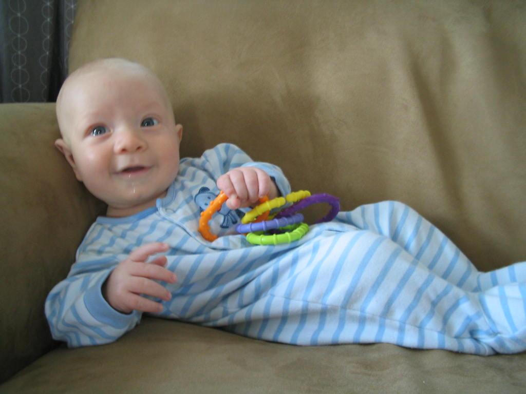 dashiell kicking back on the couch and living the dream