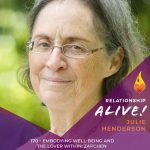 170:  Embodying Well-Being and the Lover Within: Zapchen – with Julie Henderson